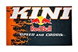 Kini Red Bull MX Racing Badetuch, RB Sporthandtuch, Handtuch Groß, Baumwolle Strandtuch