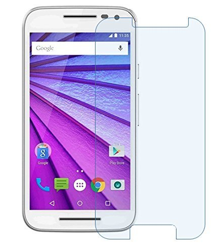 Dashmesh Shopping Anti Explosion Premium Tempered Glass , 9H Hardness For Motorola Moto G3 3Rd Gen