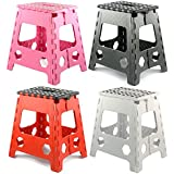 Large Folding Step Stool - 150kg Capacity by zizzi