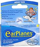 De contorno de oído Earplanes tapones para los oídos de ventilación de juego de skins protectores de procedentes de los archivos de transporte para bolas de bowls y balón de reducción de Y de sonido cuando se, 1 set de dos fundas de