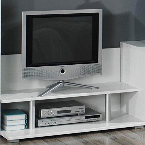 Jugendzimmer Wohnwand »SKATO221« grau-metallic, alpinweiß - 2