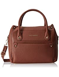 Lino Perros Women's Handbag (Brown) - B01N1FOWZI