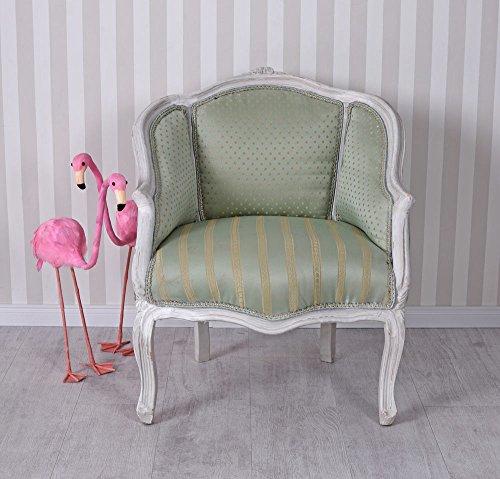Barock Sessel Antik Bergere Kinderzimmer Sitzmöbel Stuhl Vintage Palzzo Exklusiv