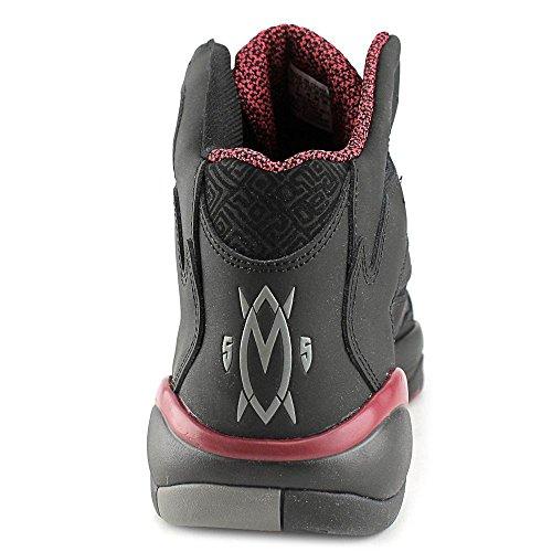 Adidas Herren Mutombo 2 Athletic Sneakers - 2014 Limitierte Auflage Court Black/Court Black/Court Burgundy