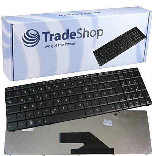 Original Laptop Tastatur / Notebook Keyboard Schwarz QWERTZ Deutsch für A75 A75A A75D A75DE A75VD A75VJ A75VM K75 K75A K75D K75DE K75JD K75V K75VD K75VJ K75VM K75WM (Deutsches Tastaturlayout) -