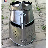 nautique Mart Knight Armour Crusader casque Wearable Halloween–médiéval Armour
