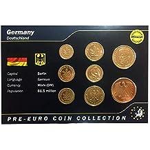 IMPACTO COLECCIONABLES Monedas Pre-Euro de Alemania bañadas en Oro de 24 Quilates - 8