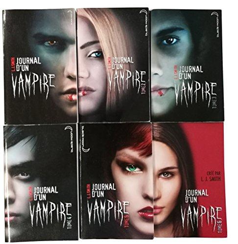 Journal d'un vampire - Tome 1 à Tome 6 (6 Livres)
