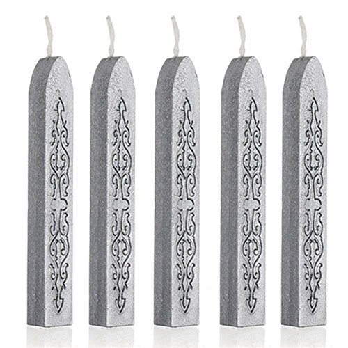 Drawihi Kreative Südkorea pfeil muster siegel wachs retro siegel wachs romantische siegel wachs wohnaccessoires (Silber)