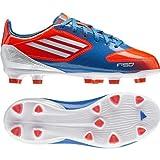 Adidas F10 TRX FG J Fussballschuhe infrared-running white-bright blue - 36 2/3