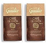 CAFES GUILIS DESDE 1928 AMANTES DEL CAFE Braziliaanse koffie in Arabica Beans Natural Roast Finca Icatu Minas Gerais 2 kilogr