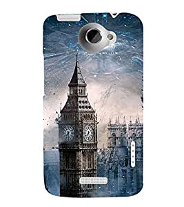 BIG BEN SCIENCE FICTION MOVIE PIC 3D Hard Polycarbonate Designer Back Case Cover for HTC One X :: HTC One XT :: HTC 1X