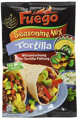 Fuego Tortilla Seasoning Mix, 3er Pack (3 x 35 g)