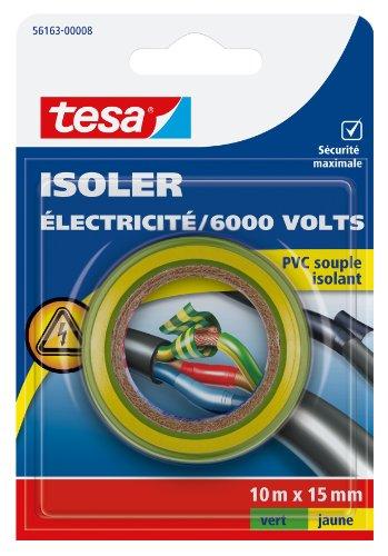 Tesa 56163-00008-00 isolieren Strom/6.000 V, PVC, isoliert, 10 m x 15 mm