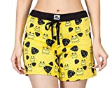 Nuteez Yellow Women's Shorts