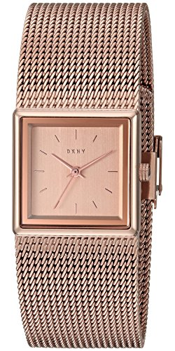 DKNY Womens Analog-Quartz Watch with Stainless-Steel Strap NY2564
