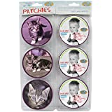 School-Mood Patchies Cat Purple 620 Purple