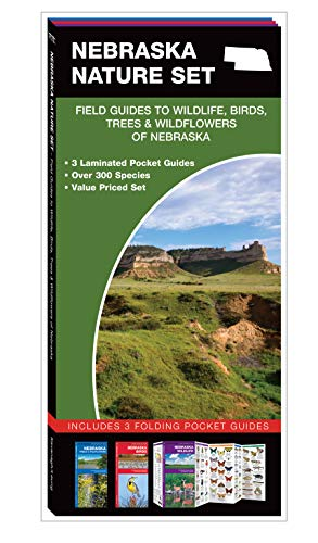 Nebraska Nature Set: Field Guides to Wildlife, Birds, Trees & Wildflowers of Nebraska (Pocket Naturalist Guide)