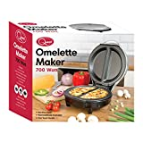 Quest Non-Stick Cool Touch Dual Omelette Maker, 700 W from Quest