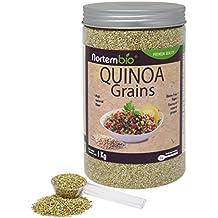 Semillas de Quinoa NortemBio 1 kg, Calidad Premium. 100% natural. Excelente Fuente