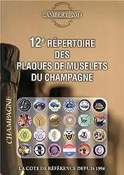 12e répertoire des plaques de muselets du champagne