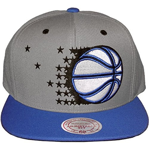 Mitchell & Ness Kappe Cappy Cap Herren Orlando Magic Grau Blau