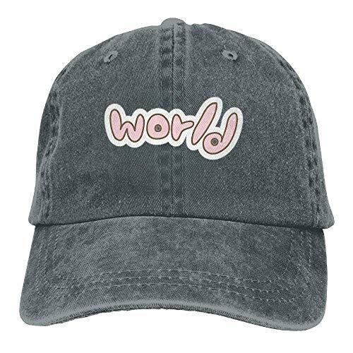 Cardinals Womens Hüte (TGSCBN Hut Liebe Biss Wassermelone Denim Schädel Cap Cowboy Cowgirl Sport Hüte für Männer Frauen Sonne)