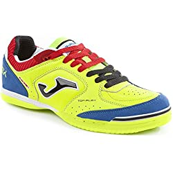 Joma Top Flex 711 Fluor Indoor - Scarpe Calcetto - Futsal Shoes - size ( EU 43- CM 28 - UK 8.5 )