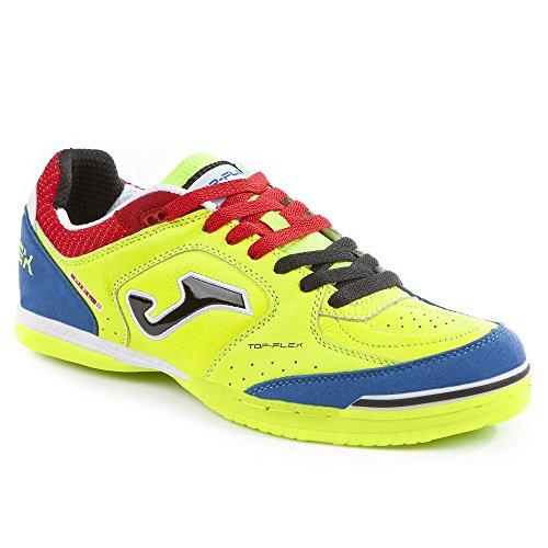 Joma tOPW _ 711_ en chaussures Futsal Top Flex 711jaune fluo Jaune