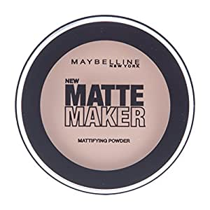 Maybelline Matte Maker 20 Beige - face powders (Nude Beige, Matte, TALC, PARAFFINUM LIQUIDUM/MINERAL OIL, MAGNESIUM STEARATE, CAPRYLYL GLYCOL [+/- MAY CONTAIN CI 778)