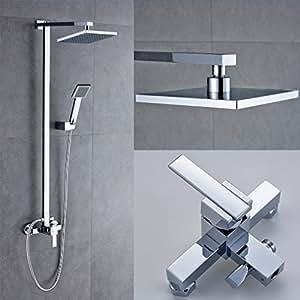 Auralum colonna doccia con miscelatore doccia con soffioni doccia rubinetto doccia set doccia - Colonna doccia bagno turco prezzi ...