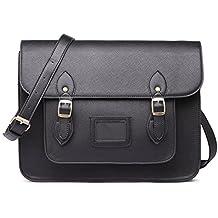 Miss Lulu borsa da donna borsa a tracolla Copertina a pois di marca vintage borsa messenger pelle sintetica scambio di lavoro Borsa da scuola