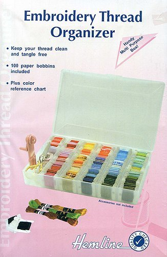 Embroidery Floss Thread Box - Large -