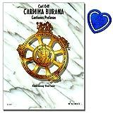 Carmina Burana Cantiones profanae - Uraufführung: 8. Juni 1937 Städtische Bühnen Frankfurt/M - Klavierauszug - [ Noten / Sheetmusic ] - mit herzförmiger Notenklammer