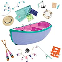 """Our Generation 44593 """"Row Your Boat"""" Boat Set for Dolls"""