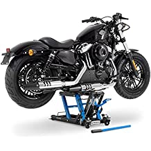 Caballete Elevador Tijera Moto Hidraulico ConStands Lift L negro-azul por Motorrad / Moto Cross / Trial / Enduro / Super Moto / Quad / ATV / Custom / Chopper / Cruiser