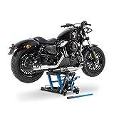 ConStands Mid-Lift L - Motorrad Scherenheber 680 kg Blau Hebebühne Yamaha XVS 125/250/ 650/1100 Drag Star, XVS 1300 Custom