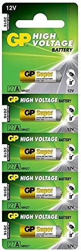 GP Batteries H/Volt Alkaline-Batterien, 12V, GP, 27A, 10Stück Volt-alkaline-batterie