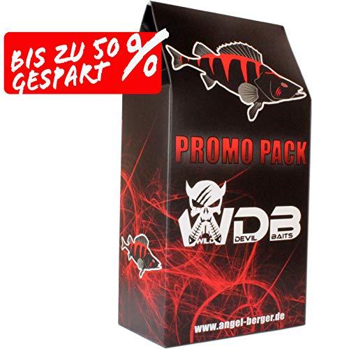 Wild Devil Baits Promo Pack Angelzubehör Raubfischangeln Kunstköder Angelsets