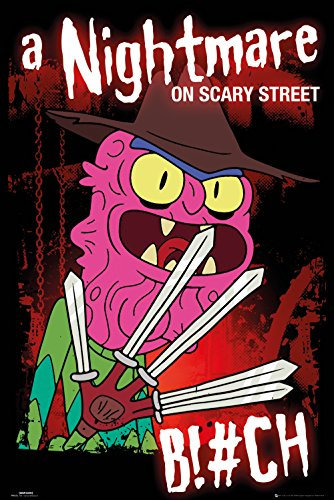 GB Eye LTD, Rick y Morty, Scary Terry, Maxi Poster