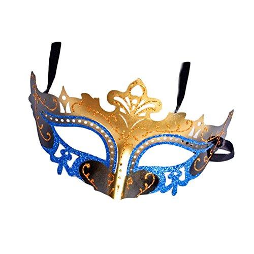 (Black Temptation Ball-Party-halbe Gesichtsmaske Kostüm Maske Prinzessin Maskerade Maske-A7)