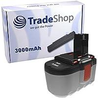 Trade batería de Ni-MH 24 V 3000 mAh para BOSCH GSR24 VE2 PSB24 VE2 GSR 24 VE2 PSB 24 VE2 GBH 24 V Professional GBH 24VF GSH 24 V GBH24V GBH24VF GSH24V GBH 24 V GBH-24V GBH 24 VF GSH 24 V