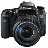 Best Selling Canon EOS 760D 24.2MP Digital SLR Camera (Black) with 18-135 STM Lens, Memory card, Camera Bag be sure to Order Now