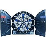 Best Sporting elektronische Dartscheibe Cambridge mit LED Beleuchteten Ziffern, Dartautomat mit 6 Dartpfeilen, Dartboard mit Netzteil