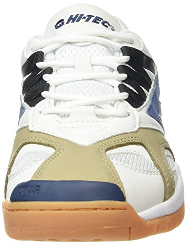 Hi-Tec Ad Pro, Sneakers Basses homme Blanc (White/Navy 011) ...