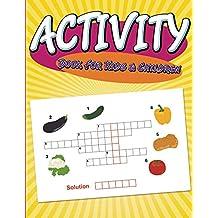 Activity Book For Kids & Children