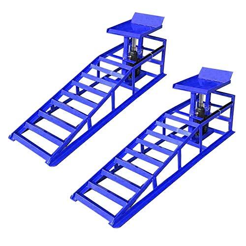 HENGMEI Paire de rampes Véhicule Rampe de levage Hauteur réglable charge de 2 tonnes pour Voiture