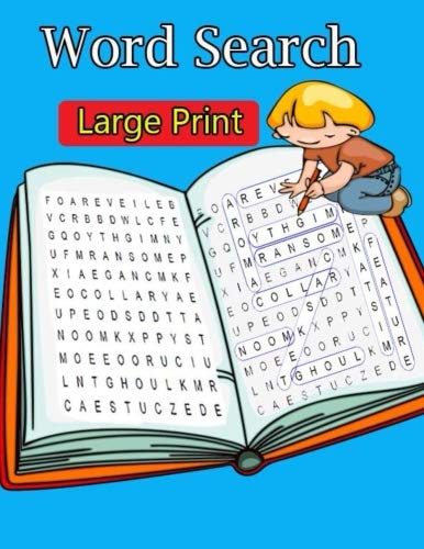 Word Search Large Print: Extra Large-Print Word Search Easy, Medium, Hard word search Puzzle Book bargain bonanza for word search lovers por Hanna Laura