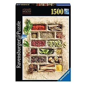 Ravensburger - 16265 9 - Puzzle - Epices Dans La Pierre - 1500 Pièces