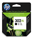 HP 302XL - Cartucho de tinta para HP DeskJet 2130, 3630 HP OfficeJet 3830, 4650 HP ENVY 4520, Color negro